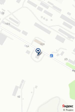 Сто Дорог на карте Бийска