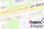 Схема проезда до компании Акцепт в Бийске