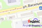 Схема проезда до компании Донна Роза в Бийске