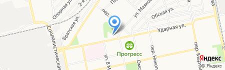 Акушерский стационар Городской больницы №2 г. Бийск на карте Бийска