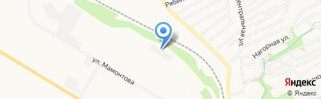 Газпром трансгаз Томск на карте Бийска
