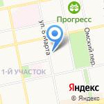 Сибирский информационный центр на карте Бийска