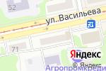 Схема проезда до компании KORS в Бийске