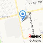 Центр развития ребенка-детский сад №65 на карте Бийска