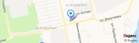 Отделочник на карте Бийска