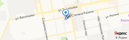 ЛДЦ МИБС на карте Бийска