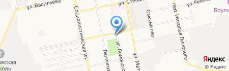 Умнюша на карте Бийска