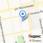 Росгосстрах-Алтай-Медицина на карте Бийска