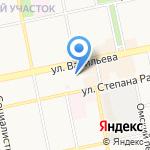 КБ Агропромкредит на карте Бийска