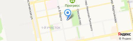 Общежитие на карте Бийска