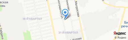 Evgeniya на карте Бийска