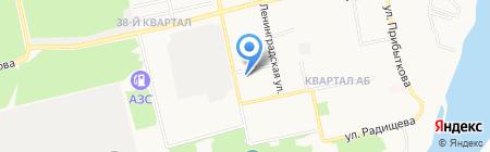 Мрия на карте Бийска