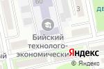 Схема проезда до компании Спартак в Бийске
