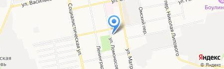 Синтагма на карте Бийска