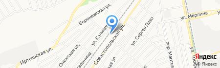 ММС на карте Бийска