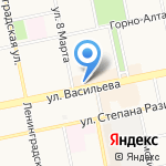 Континент-Тур на карте Бийска