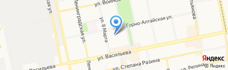 Участковый пункт полиции Отдел полиции Приобский на карте Бийска