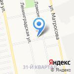 Средняя общеобразовательная школа №34 на карте Бийска