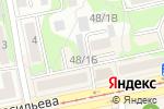 Схема проезда до компании Фрукты в Бийске