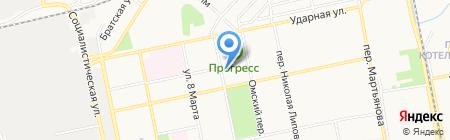 ЖД-Транссервис на карте Бийска