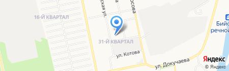 Детский сад №47 на карте Бийска