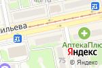 Схема проезда до компании Солнечный-S в Бийске