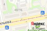Схема проезда до компании Бинбанк, ПАО в Бийске