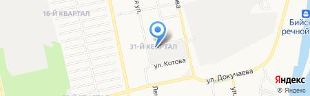 Флексмастер на карте Бийска