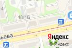 Схема проезда до компании 1XBet в Бийске