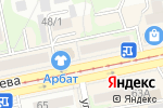 Схема проезда до компании ПиОН в Бийске