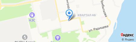 Эльф на карте Бийска