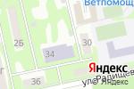 Схема проезда до компании Современник в Бийске
