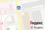 Схема проезда до компании Скрепка в Бийске