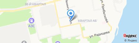 Распродажа на карте Бийска
