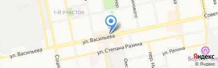 Быстроденьги на карте Бийска