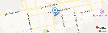 Моя крепость на карте Бийска