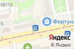 Схема проезда до компании Капелька в Бийске