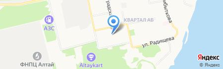 Ванна-Сервис на карте Бийска