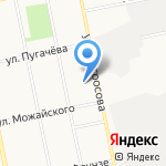 Алтайский научно-производственный центр биотехнологий на карте Бийска
