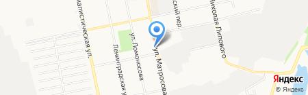 Баярд на карте Бийска