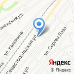 Севастопольский на карте Бийска
