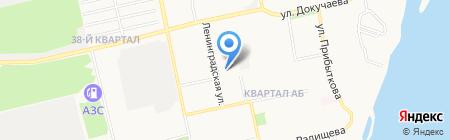 Микс FM на карте Бийска