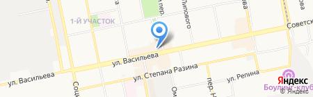 Фортуна на карте Бийска