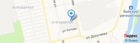 РЦ Алтай на карте Бийска