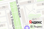 Схема проезда до компании Золотой ключик в Бийске