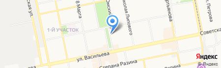 Оптика сервис на карте Бийска