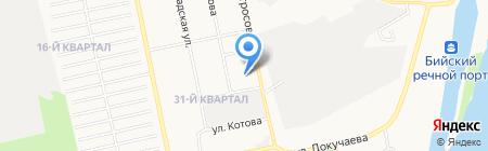 Банкомат Банк ВТБ 24 на карте Бийска