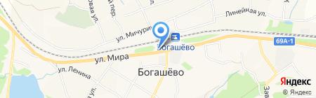 Напитки Кубани на карте Богашёво