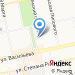 Лаборатория Сибирского института репродукции и генетики на карте Бийска