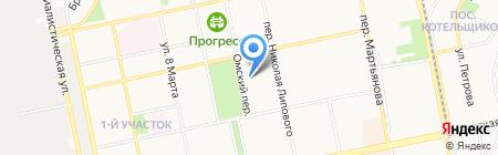 Нория-2 на карте Бийска